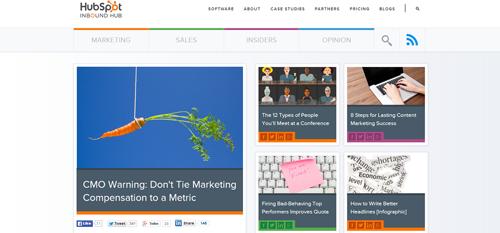 Blog Hubspot 2014, Crispy Content®