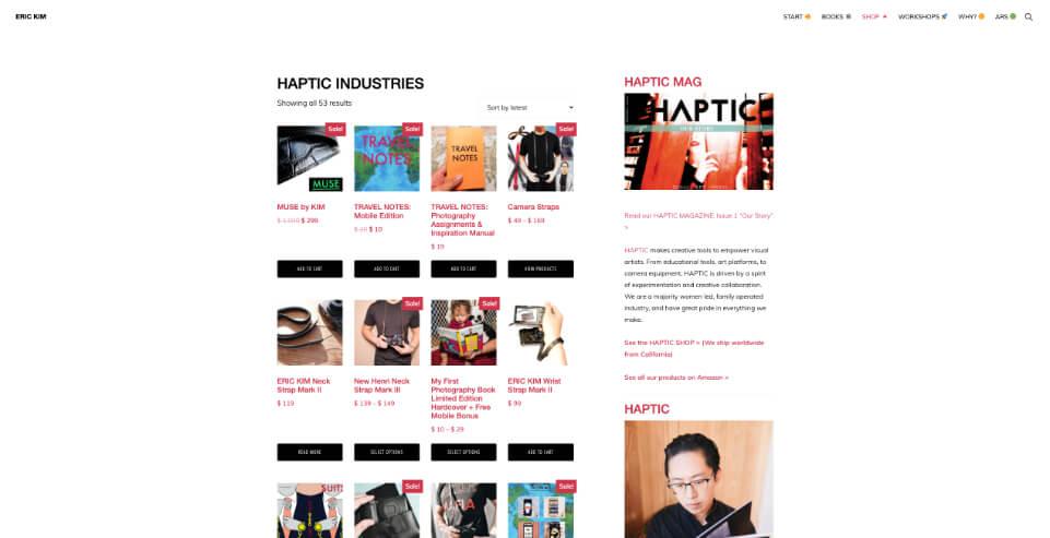 Blog Eric Kim I am Photography, Crispy Content®