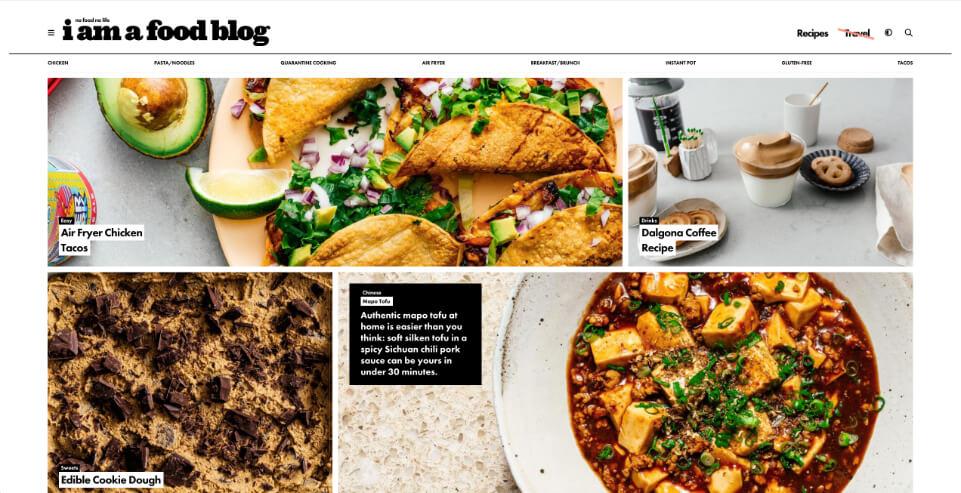 Blog I Am A Food Blog, Crispy Content®