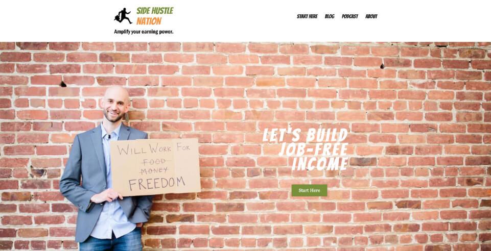 Blog Side Hustle Nation, Crispy Content®