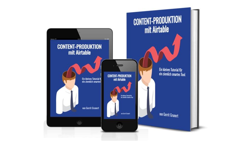 Gratis E-Book Content-Produktion mit Airtable