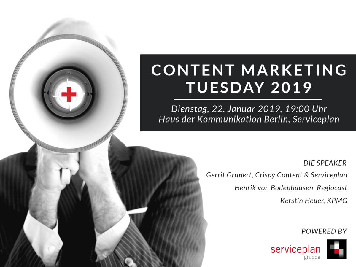 Content Marketing Tuesday 2019