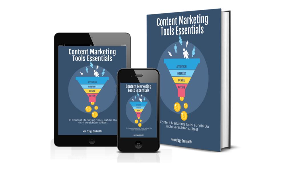 Gratis E-Book Content Marketing Tools Essentials