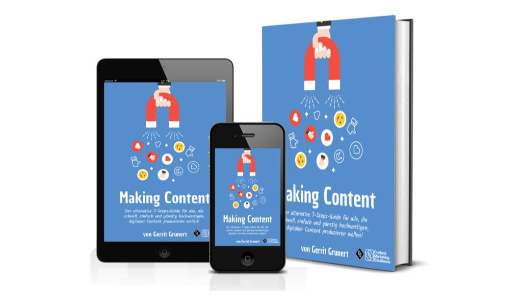 Gratis E-Book Making Content Ultimate Guide