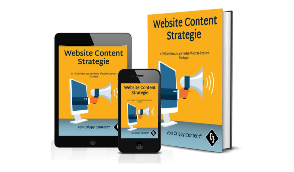Gratis E-Book Website Content Strategie